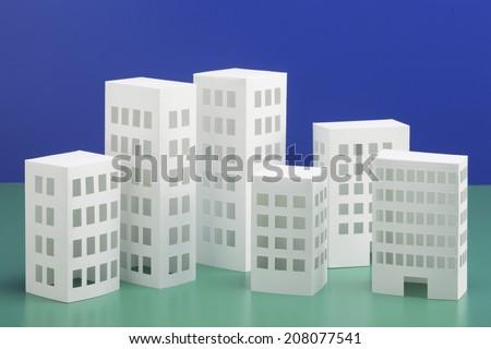 Papercraft House Papercraft Building Stock Photo Edit Now