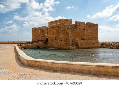 Paphos Castle represents one of the most distinctive landmarks of the city of Paphos, Cyprus