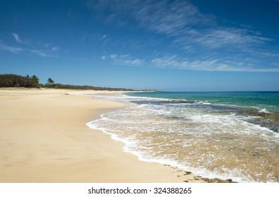 Papohaku Beach Park, Molokai, Hawaii-5