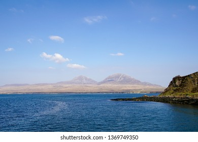 The Paps of Jura seen from Islay, Scotland