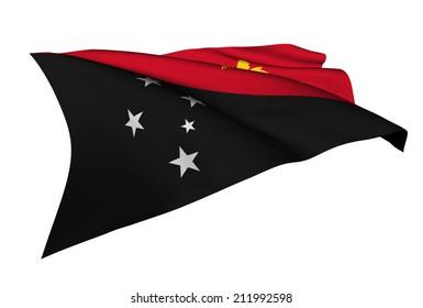 Papua New Guinea flag - collection no_5