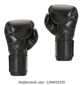 par boxing gloves on a white background