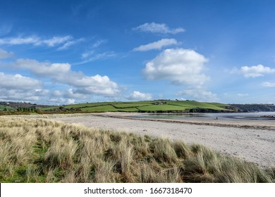 Par Sands in the west Country of Cornwall - Shutterstock ID 1667318470