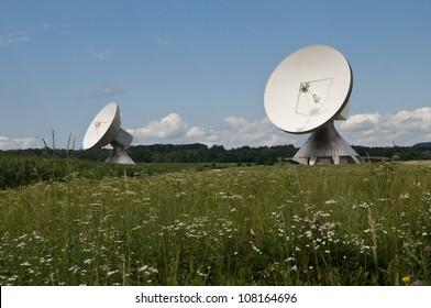 Parabolic Antenna, Raisting, Bavaria, Germany