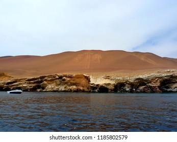 Paracas Candelabra (Candelabra of the Andes), Paracas National Reserve - Perù