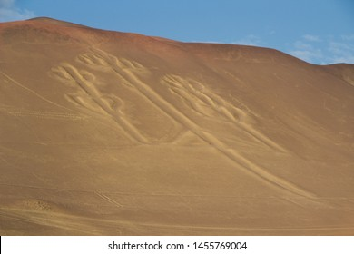 The Paracas Candelabra, also called the Candelabra of the Andes, prehistoric geoglyph