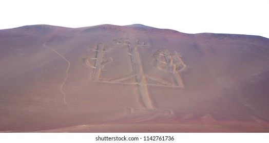 Paracas Candelabra, also called the Candelabra of the Andes, is a well-known prehistoric geoglyph found on the northern face of the Paracas Peninsula at Pisco Bay in Peru