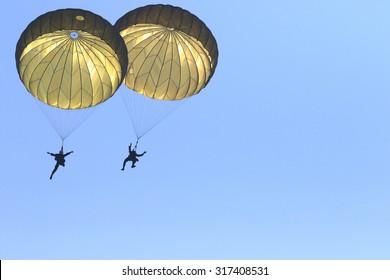 Parachute trooper