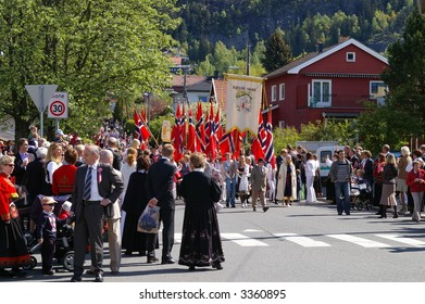 Parade on the Norwegian national day 17. may.