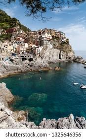 Paradise bay of Cinque Terre