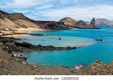 Paradise bay in Galapagos Islands