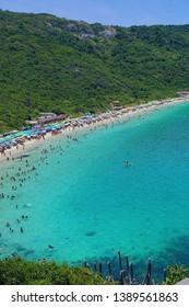 paradise beach in arraial do Cabo in brazil
