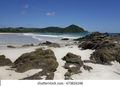 Paradise beach in Indonesia.