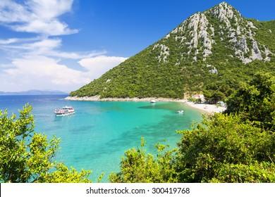 paradise beach on Peljesac peninsula in Dalmatia, Croatia