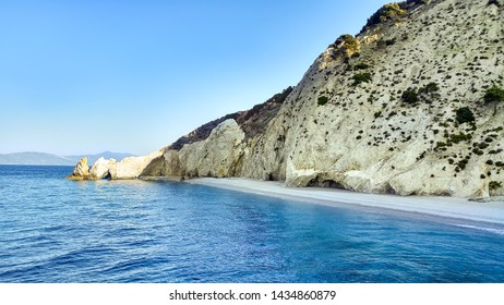 Paradise beach on Skiatos island in on Greece
