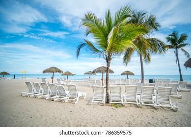 Paradise beach in Panama