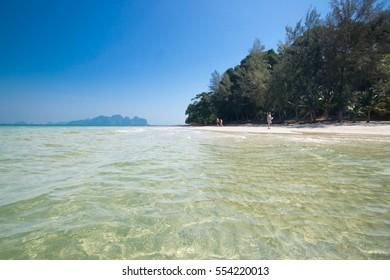 Paradise beaches of the Andaman Sea, Krabi province, Thailand