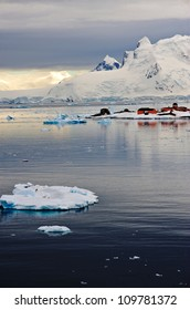 Paradise Harbour (Bay) on the Western coast of the Antarctic Peninsular home to two research bases and one of the few place visited by cruise ships in Antarctic waters