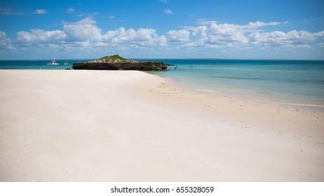 Paradise island.
