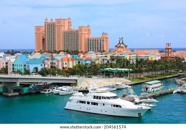 Paradise Island Atlantis Resort Nassau Bahamas Stock Photo Edit Now 204561574