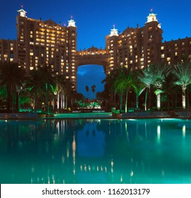 Paradise Island. Bahamas. 2012.19.03. The luxury vacation resort of Atlantis on Paradise Island in the Bahamas.