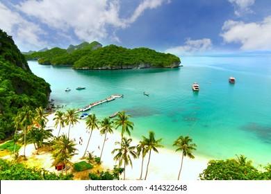Paradise island. Koh Samui, Thailand