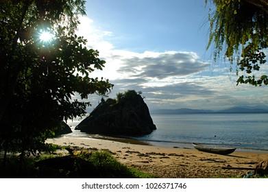 Paradise island in Madagascar