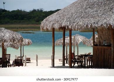 Paradise Lake, Jericoacoara, Brazil