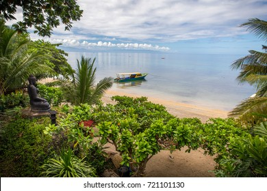 Paradise view at Bunaken Beach, Manado, North Sulawesi - Indonesia