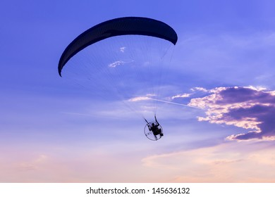 the paraglider conquer the skies
