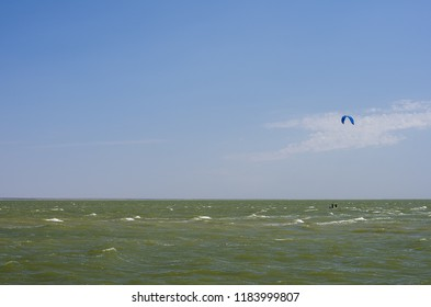 paraglider fly over amazing beach sea landscape paragliding sunny summer day tropical island adventure extreme sport risk adrenaline blue sky emotional freedom