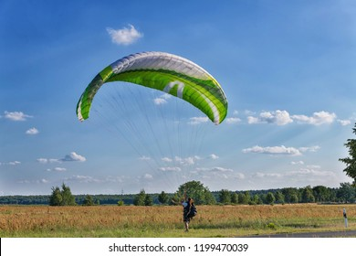 Paraglider in Germany