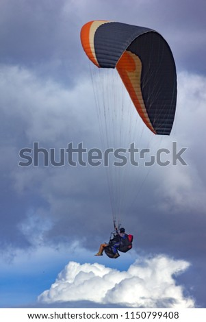 Paragliders San Felix Antioquia Colombia Stock Photo (Edit Now