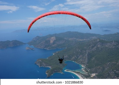 Paragliding in Fethiye Turkey