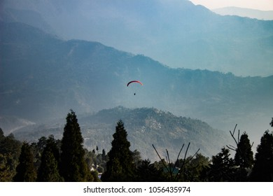 Paragliding at Kalimpong, Sikkim