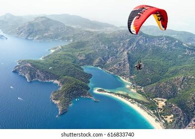 Paragliding. Oludeniz