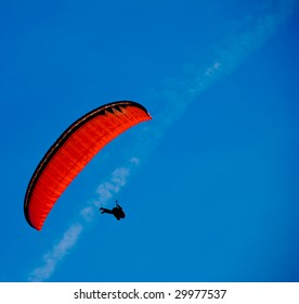 Paragliding in the skies of Germany