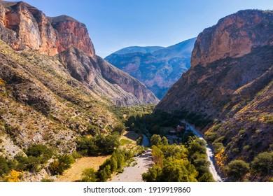 Paraiso Canyon, immersed in the Sierra Gorda de Queretaro, Mexico