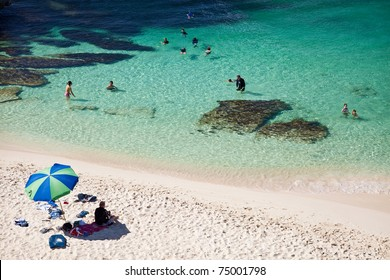 Parakeet Bay in Rottnest Island, Western Australia
