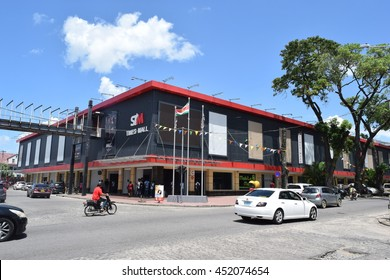 Paramaribo Suriname - July 13 2016 - Downtown at Paramaribo, capital of Suriname