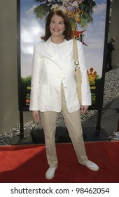 Paramount Pictures boss SHERRY LANSING at the Los Angeles premiere of Rugrats Go Wild. June 1, 2003