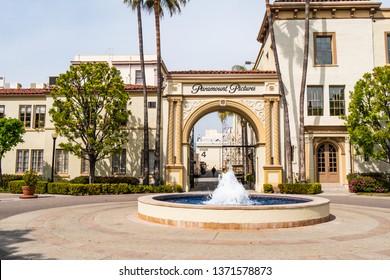 Paramount Pictures film studios at Los Angeles - CALIFORNIA, UNITED STATES - MARCH 18, 2019