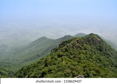parasnath hills in jharkhand , india