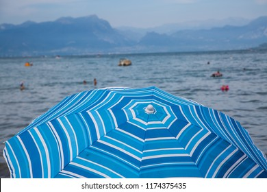 Parasol on Lake Garda