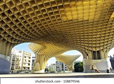 parasol on the sevilla city