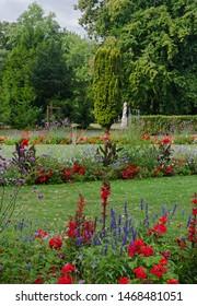 Parc de La Perle du Lac next to Lake Geneva, Switzerland