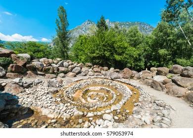 Parc de la Prehistoire in Tarascon-sur-Ariege, Ariege, Midi-Pyrenees, southern France.