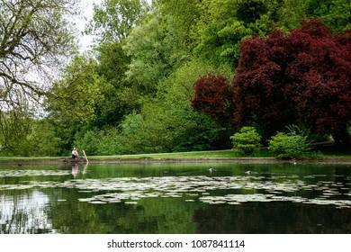 Parc de la Wolluwe, Brussels, Belgium
