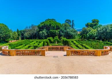 Parc del Laberint d'Horta in Barcelona, Spain