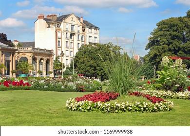 Parc du Thabor, Rennes, Bretagne, France